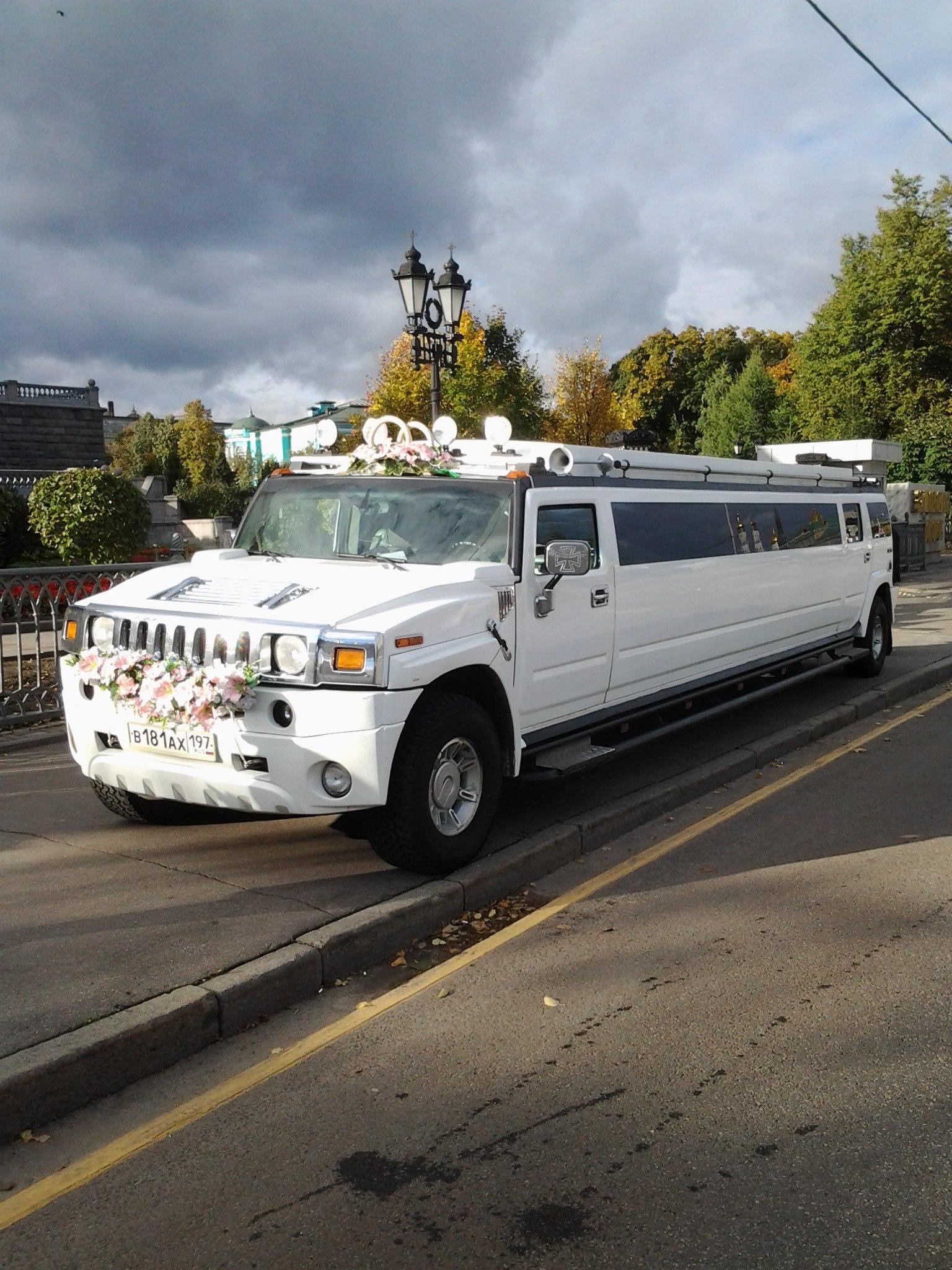 Hummer - заказ лимузина hummer в московской области, прокат лимузина на свадьбу